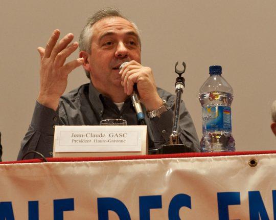 Jean-Claude Gasc, Président des Entrepreneurs Des Territoires de Haute-Garonne.