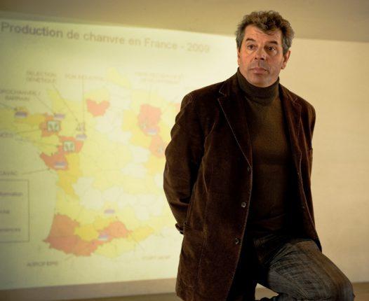 Daniel Salviac, Président de Chanvre de Garonne, souhaite une « professionnalisation » des producteurs.