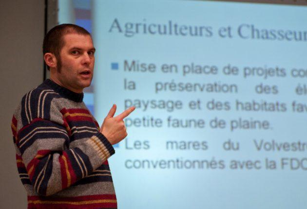 Pour Arnaud Gaujard (FDC 31), la JEFS est un atout pour la biodiversité, avec des contraintes minimes pour l'agriculteur.