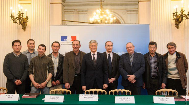 Les signataires de la charte d'engagement unique en France