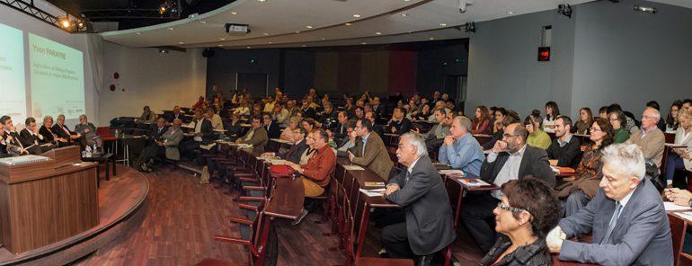 Plus de 150 personnes sont venues échanger sur avec des spécialistes de tous horizons sur les moyens de développer le potentiel de la filière céréalière en termes de valeur ajoutée et d'emplois.