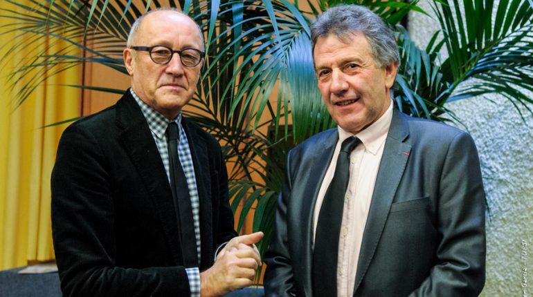 Jean-Louis Chauzy et Jean-Louis Cazaubon demandent un plan de réintroduction des bergers dans les Pyrénées.