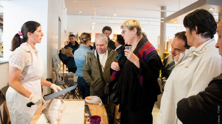 Un nouveau magasin de produits frais et locaux (ici, la truite d'Ôo) pour les gourmets toulousains.