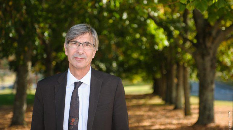 Antoine Santimaria, le nouveau proviseur de la Cité des Sciences Vertes.