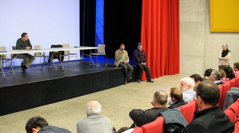 Après la partie statutaire, l'Union des Cuma s'est penchée sur le dossier de la méthanisation, avec Jean-Luc Dalozzo et Régis Payrastre.