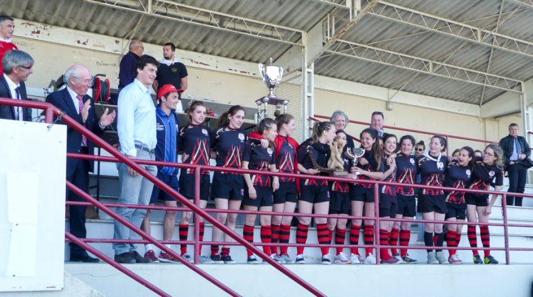 Les filles de l'équipe junior d'Auzeville sont championnes de France