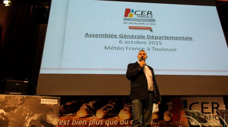 Bernard Ader, Président du Cerfrance 31, croit aux capacités d'innovation des entreprises locales.