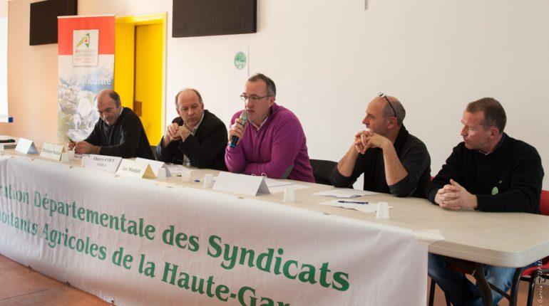 Luc Mesbah (micro) a choisi de mettre la question des normes environnementales au cœur des débats de l'AG 2016.