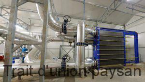 Les Serres de Bessières se sont dotées du plus grand échangeur eau/eau d'Europe.