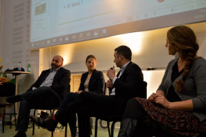 Bruno Dufayet, Céline Imart, François Purseigle et Julie Ryschawy, ont contribué au débat.