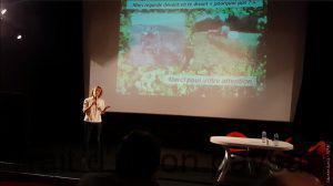 Sarah Cingla veut réconcilier production et environnement dans le Lauragais, grâce aux couverts végétaux (photo:Tara Hopkins)