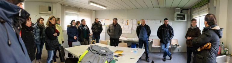 Les opportunités sont réelles pour l'agriculture locale, d'où l'initiative du CDAL d'inviter les conseillers agricoles du Lauragais à visiter le site de CLER Verts