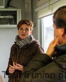 Élodie Laborie travaille sur le projet de méthanisation depuis 2010