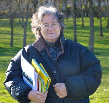 Henriette Surin, agricultrice à Clermont-le-Fort