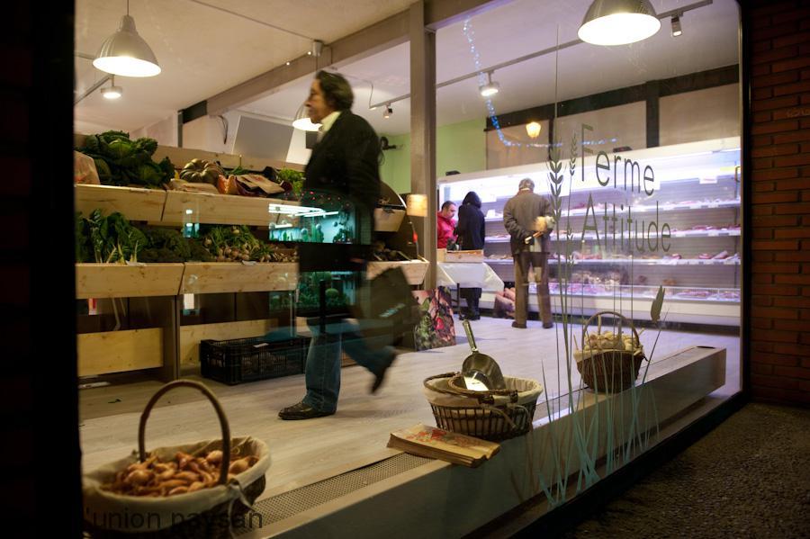 Le magasin de producteurs fermiers a fait carton plein pour son ouverture.