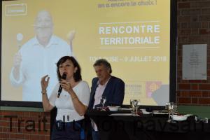 La consultation régionale sur l'alimentation à mi-parcours. Carole Delga, présidente de la région Occitanie, a introduit la rencontre citoyenne organisée lundi 9 juillet à Toulouse dans le cadre de la concertation sur l'alimentation. Devant près de 300 personnes, elle a vanté la qualité des produits régionaux sous signe officiel de qualité.