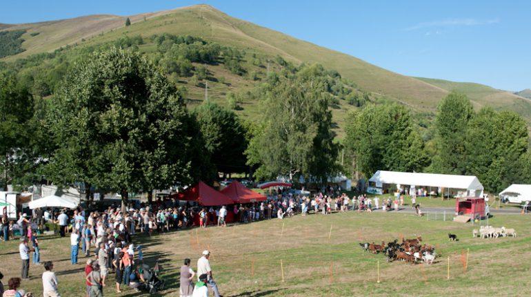 Garin accueillait une fête de la montagne des plus chaleureuses.