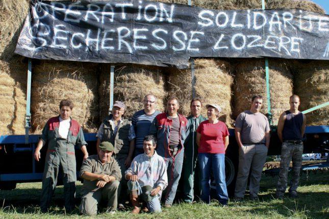 À Salies, c'est tout un secteur qui a volé au secours d'un canton de Lozère ravagé par la sécheresse.