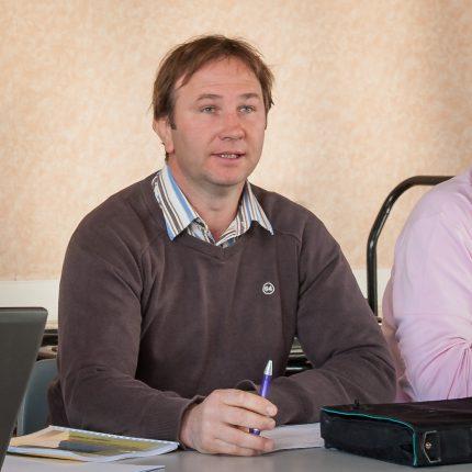 Jérôme Dal, Président du Syndicat des Multiplicateurs de Semences de Maïs du Midi-Toulousain.