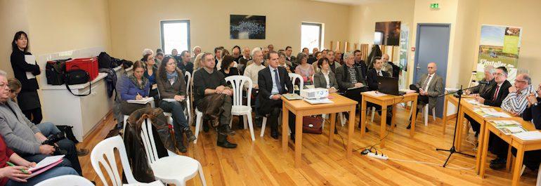 Tous les acteurs du développement rural étaient réunis à l'invitation de la SAFER GHL.