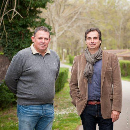Avec l'élection de Gilles Joviado à la Mairie de Buzet (à droite, en compagnie de Dominique Vincent, agriculteur) et le basculement d'autres communes voisines, elles aussi hostiles au projet, la controversée ZAC des Portes du Tarn pourrait être réexaminée.