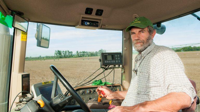 Jacques Beauville a suivi toutes les procédures légales et administratives lors du semis de son maïs MON810.