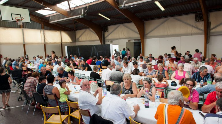 Moment fort de la foire: les 190 repas concoctés par les agricultrices du canton.
