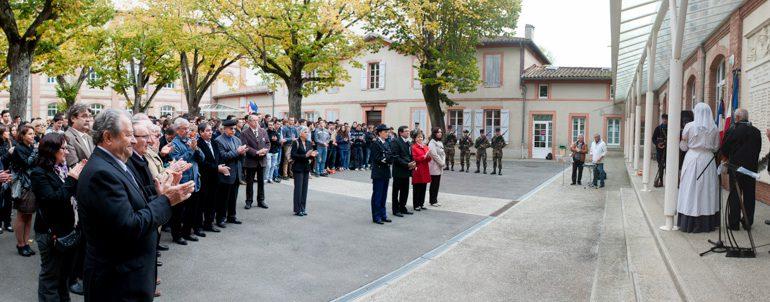 Le lycée d'Ondes a rendu hommage aux 59 élèves morts dans le conflit de 14-18.