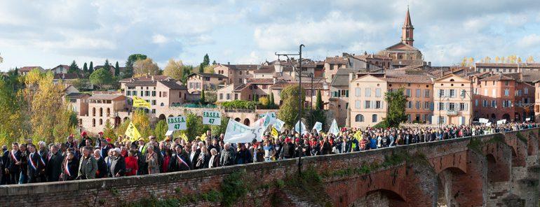 La manifestation, qui se voulait citoyenne, s'est déroulée dans le calme.