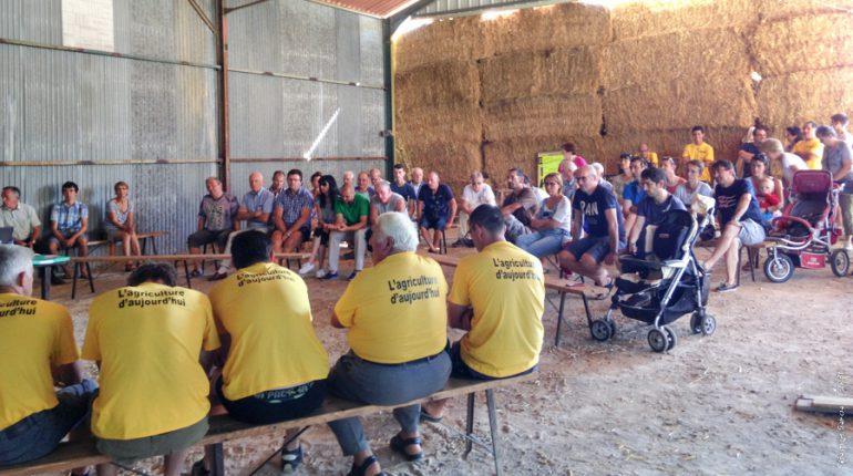 Un débat public sur l'agriculture, pour améliorer les relations de voisinage.