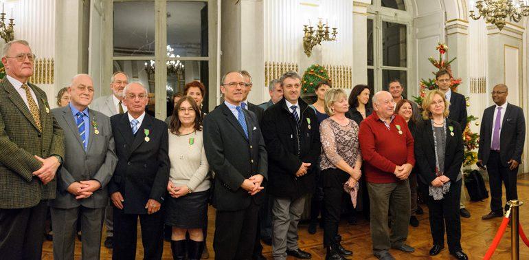 Félicitations aux décorés, en particulier Alain Brousse et Pascale Duraud (agriculteurs) et Pierre Delperié et Martine Colné (lycée d'Auzeville), bien connus du journal.