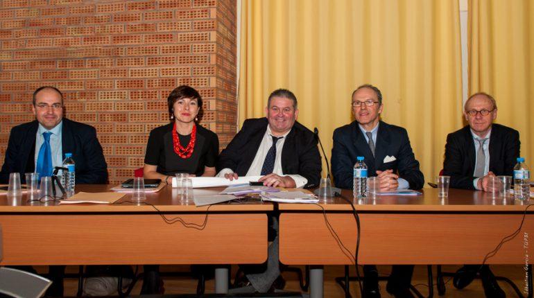 Carole Delga, Denis Carretier et Pascal Mailhos, trois des acteurs principaux de la mise en œuvre de la politique agricole dans la nouvelle grande région.