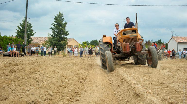 Les agriculteurs d'Auterive ont mis une belle ambiance à Grazac durant tout le week-end.