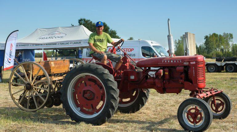 Axel Tran Van a fédéré un groupe de passionnés de machinisme agricole autour d'un évènement festif et populaire.