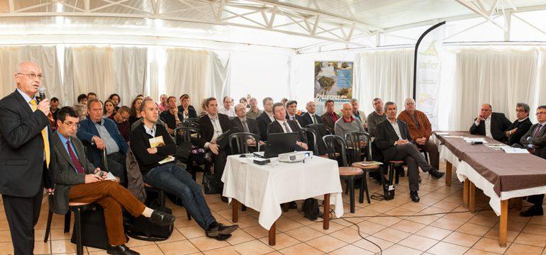 Christian Roussel revient sur les grandes lignes du foncier agricole en Ariège et Haute-Garonne.